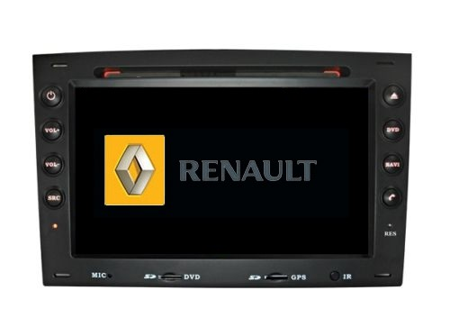 autoradio renault megane ii 2 din 7 hd gps tecnochin. Black Bedroom Furniture Sets. Home Design Ideas