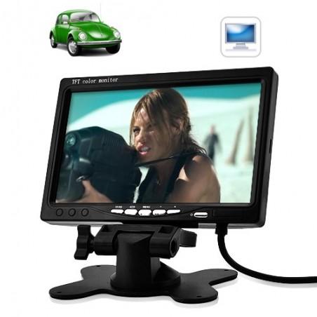 "Monitor TFT LCD de 7"""